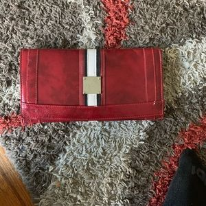 Miche Bags - Miche Red Leather Wallet